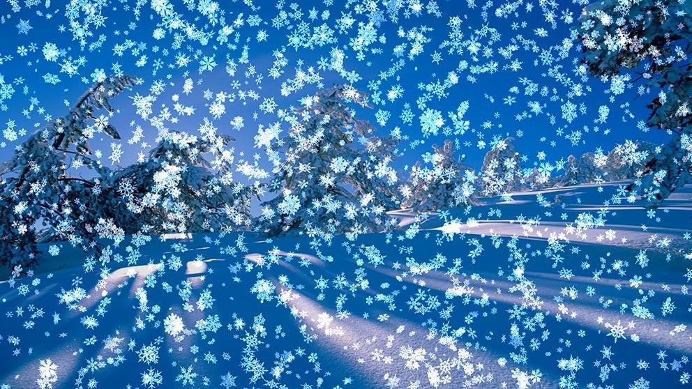 Snowy Desktop 3D Live Wallpaper